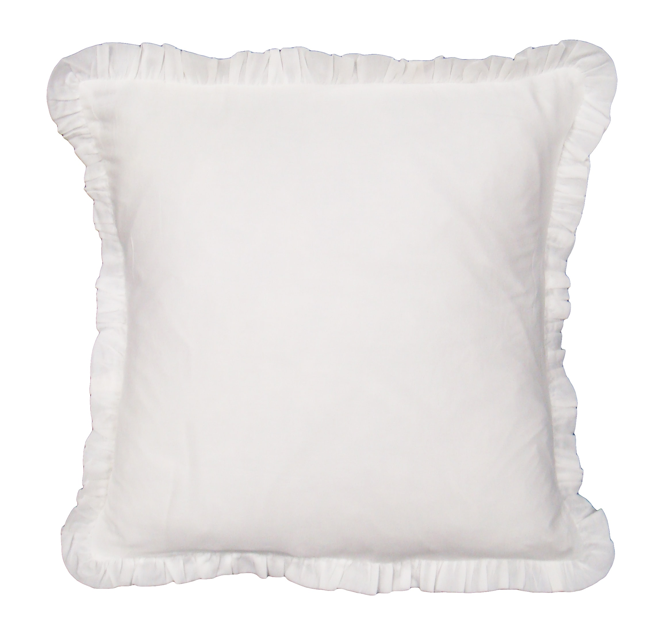 Shop Acelin White Decorative Pillow Free Shipping Today