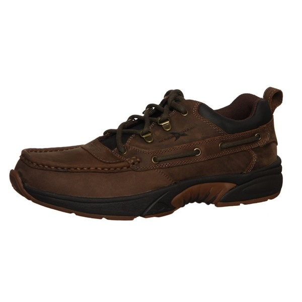 Rugged Shark Men's 'Courier Low' Boat Shoes