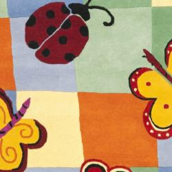 Safavieh Handmade Children's Garden Friends N. Z. Wool Rug (8' x 10')