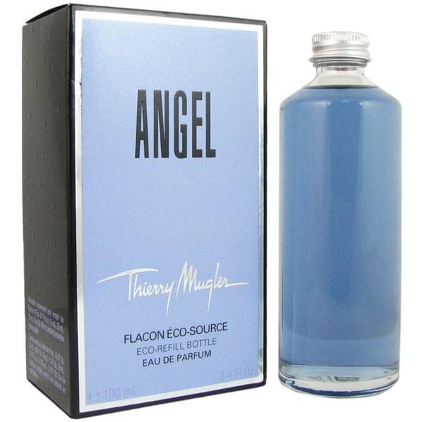 Mugler Perfume Refill: Shop Thierry Mugler Angel Women's 3.4-ounce Eau De Parfum (Refill Bottle)