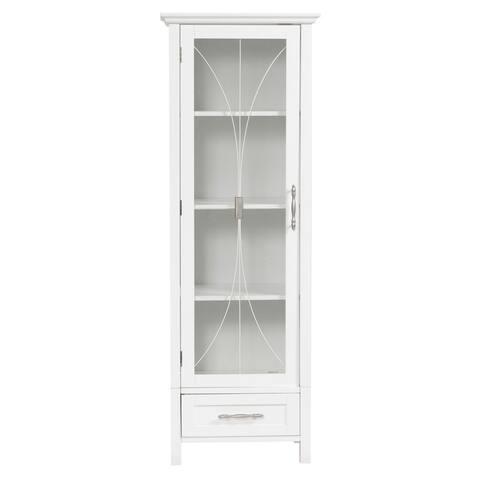 Veranda Bay White Linen Storage by Elegant Home Fashions