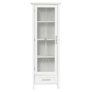Veranda Bay White Linen Storage by Elegant Home Fashions