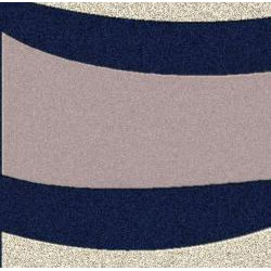 Admire Home Living Brilliance Wave Area Rug (7'9 x 11')
