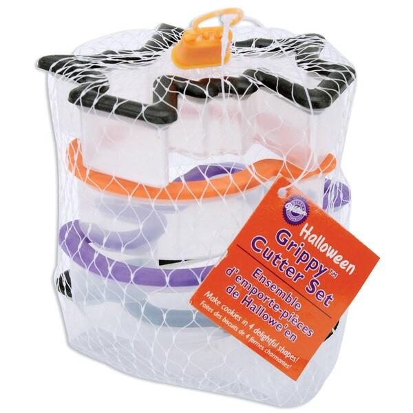 Wilton Comfort Grip Halloween Cookie Cutter Set (Pack of 4)