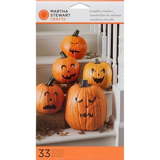 Martha Stewart Pumpkin Transfers (Pack of 33)