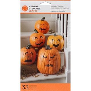 Martha Stewart Pumpkin Transfers (Pack of 33)