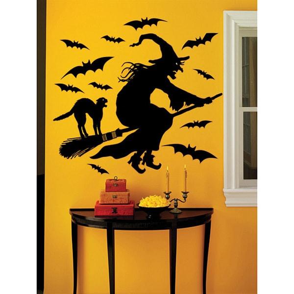 Shop Martha Stewart 19 Piece Witch Vinyl Wall Decal Free