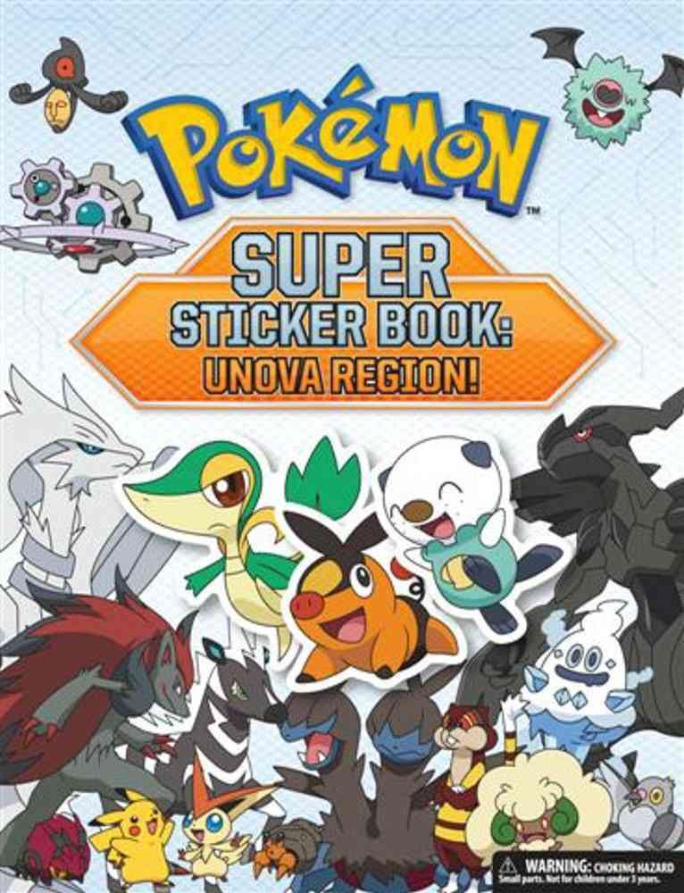 Pokemon Super Sticker Book: Unova Region! (Paperback)