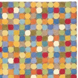 Safavieh Handmade Soho Modern Abstract Brown/ Multi Wool Rug (5' x 8') - Thumbnail 1