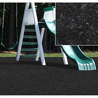 Kidwise Black Rubber Playground Mulch
