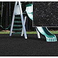 Kidwise Black Rubber Playground Mulch