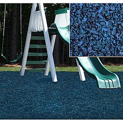 Kidwise Blue Rubber Playground Mulch