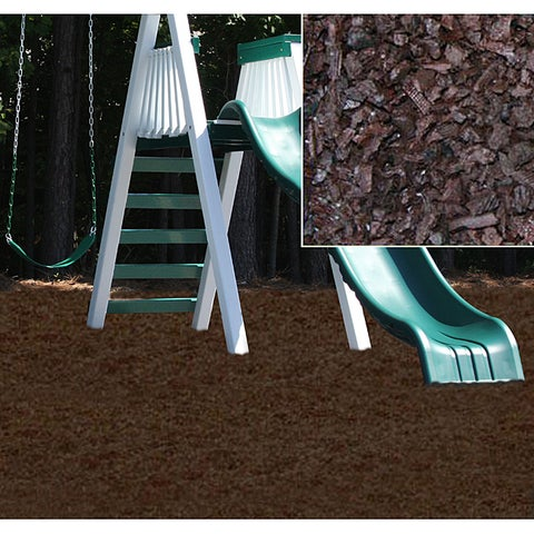 Kidwise Brown Rubber Playground Mulch