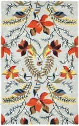 Safavieh Handmade New Zealand Wool Mirage Blue Rug - 7'6 x 9'6
