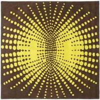 Safavieh Handmade New Zealand Wool Infinity Brown Rug - 6' x 6' Square