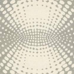Safavieh Handmade New Zealand Wool Infinity Blue Rug (7'6 x 9'6) - Thumbnail 2