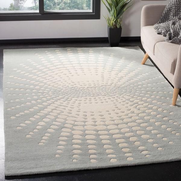 Safavieh Handmade Soho Hadasa Abstract Burst N Z Wool