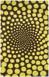 Safavieh Handmade New Zealand Wool Eternity Brown Rug (3'6 x 5'6')