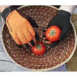 WWG Manswork MicroSuede Large Orange Stretch Work Glove