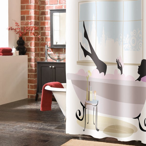 Pampered Girl 72-inch Shower Curtain