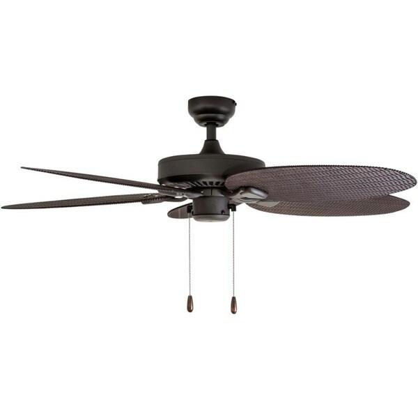 EcoSure Siesta Key 52-inch Tropcial Bronze Indoor// Outdoor Ceiling Fan With And