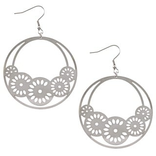La Preciosa Stainless Steel Multiple Circle Earrings