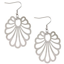 La Preciosa Stainless Steel Openwork Earrings
