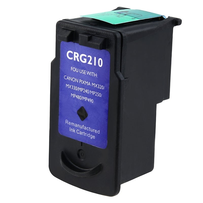 INSTEN Canon PG-210 Black Ink Cartridge (Remanufactured) - Thumbnail 0
