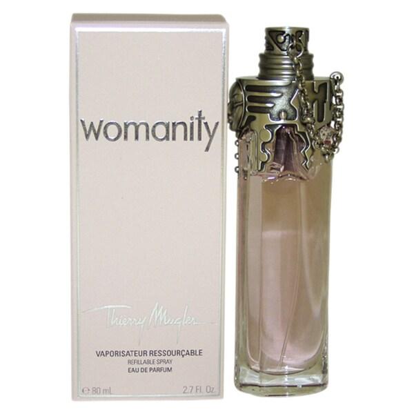 Womanity Perfume Refill: Thierry Mugler Womanity Women's 2.7-ounce Eau De Parfum Spray