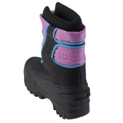 Itasca Kid's Snow Stompers Removable Liner Purple Snow Boots