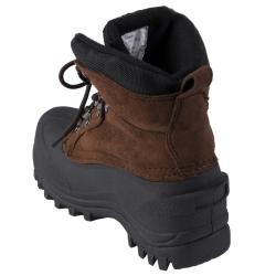 Itasca Kid's Ice Breaker Microsuede Upper Lug Sole Winter Boots