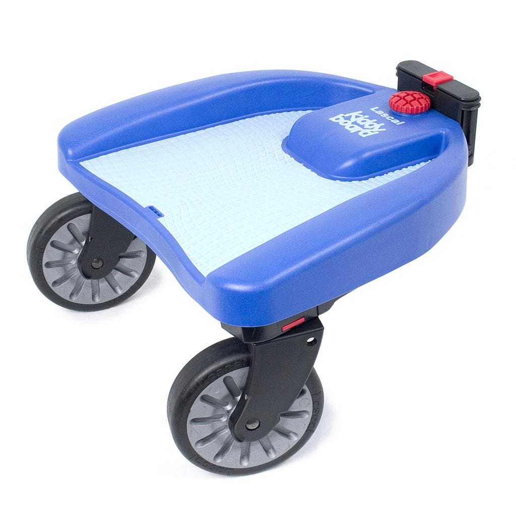 Lascal Kiddy Board Maxi Blue Stroller Accessory Free