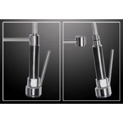 Kokols Tall Pull-out Spray Chrome Kitchen Faucet