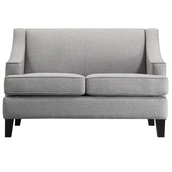 Winslow Concave Arm Modern Loveseat By INSPIRE Q Bold   Free Shipping Today    Overstock.com   13867511