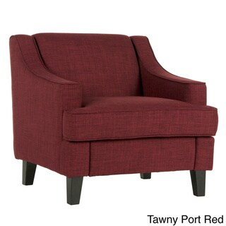 INSPIRE Q Winslow Concave Arm Modern Accent Chair