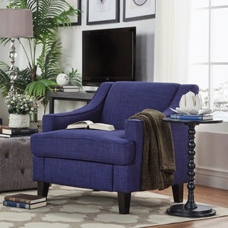 Winslow Concave Arm Modern Accent Chair by INSPIRE Q