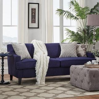 Winslow Linen Fabric Modern Sofa by INSPIRE Q