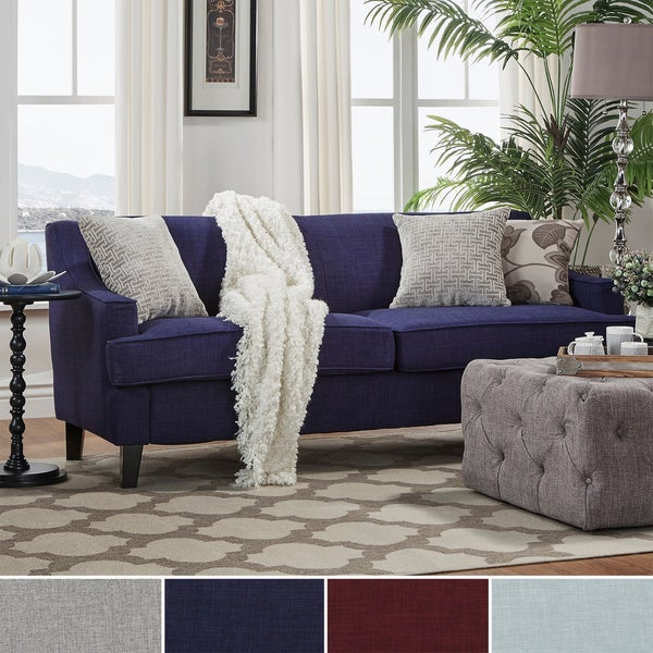 Winslow Linen Fabric Modern Sofa by INSPIRE Q