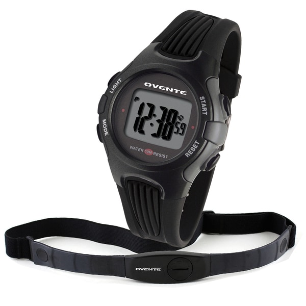 Ovente BHS6000 Heart Rate Monitor with Chest Strap (Beatech Collection)