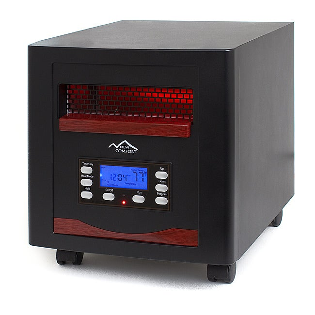 Shop new comfort es1500 energy efficient infrared heater for Electric radiant heat efficiency