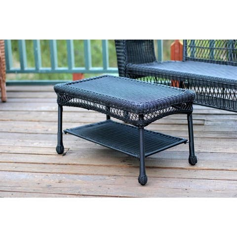 Sadie Wicker Patio Coffee Table by Havenside Home