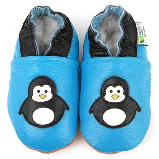 Baby Penguin Leather Baby Shoes|https://ak1.ostkcdn.com/images/products/6223868/6223868/Baby-Penguin-Leather-Infant-Shoes-P13867658.jpg?impolicy=medium