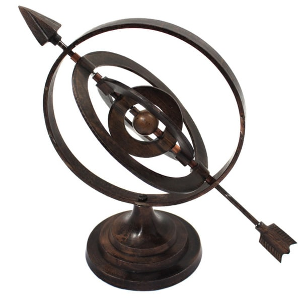 Shop Metal Armillary Nautical Sphere Globe Tabletop Decor