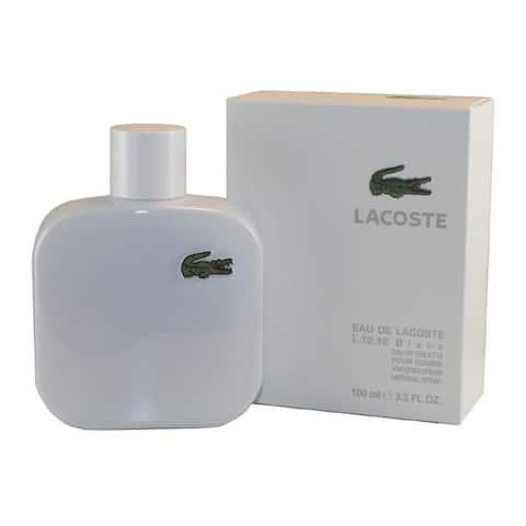 Lacoste Eau De Lacoste Blanc Men's 3.3-ounce Eau de Toilette Spray