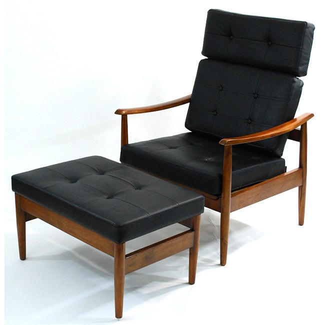 Vodder Lounge Chair Ottoman