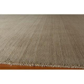 Manhattan Ombre Taupe Hand-Loomed Wool Rug (5 x 8)