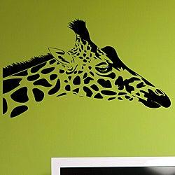 Vinyl 'Giraffe Head' Wall Decal Set
