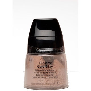 Revlon Colorstay Fair/ Light Mineral Foundations (Pack of 4)