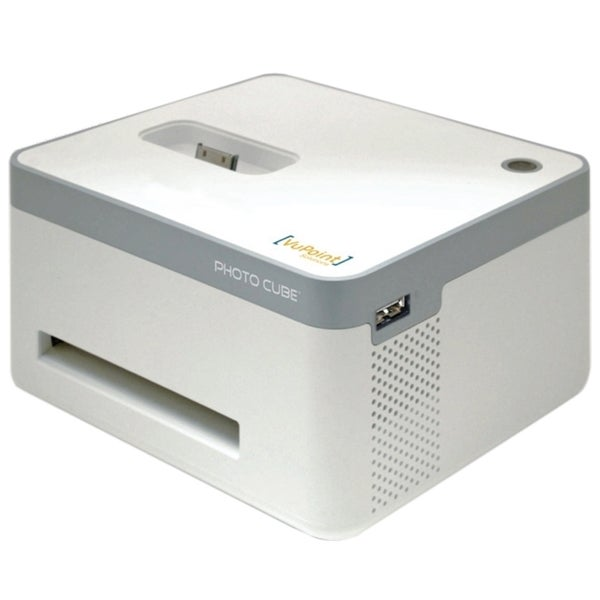 VuPoint Solutions Photo Cube IP-P10-VP Dye Sublimation Printer - Colo