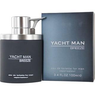 Myrurgia Yacht Man Breeze Men's 3.4-ounce Eau de Toilette Spray